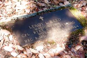 bronze-headstone