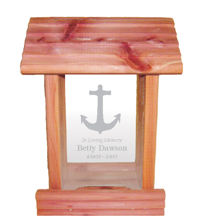 Sailboat Memorial Bird Feeder