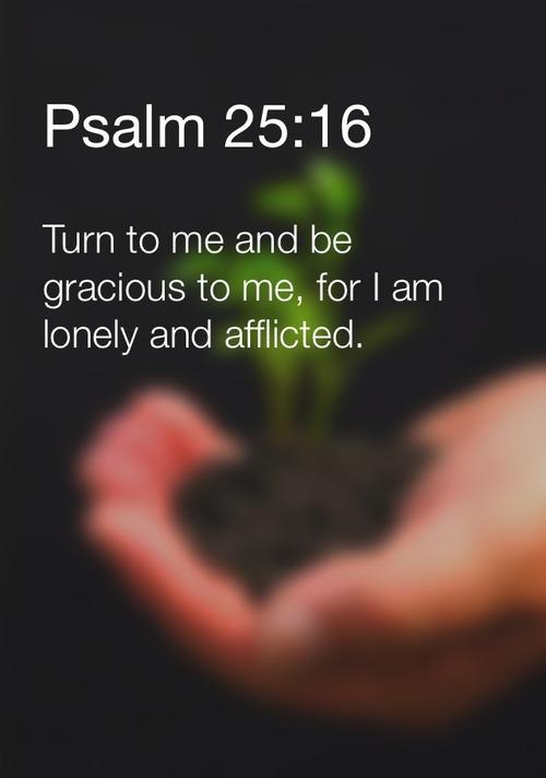 Psalm 25:16