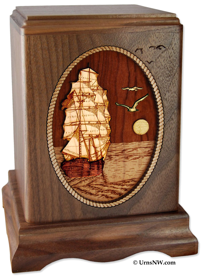 Sailboat Urns