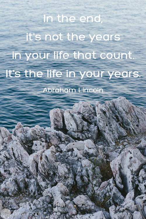 Abraham Lincoln Funeral Quote