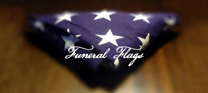 What to do with a Military Funeral Flag
