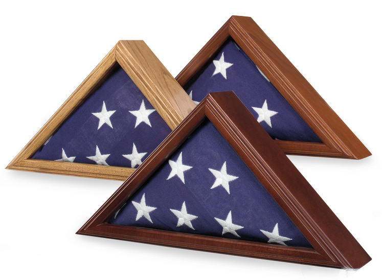 Military Flag Display for 3' x 5' flags