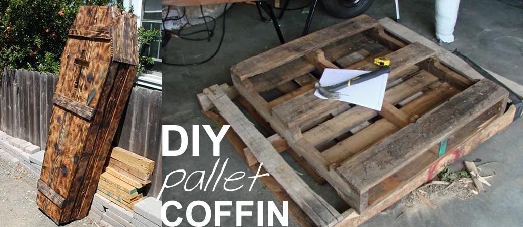 Pallet Coffin Tutorial