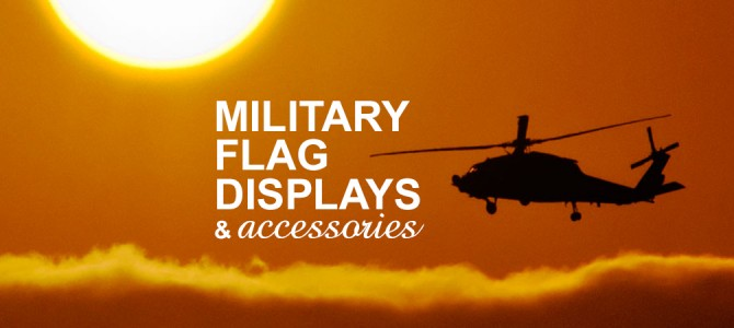 13 Military Flag Displays & Accessories