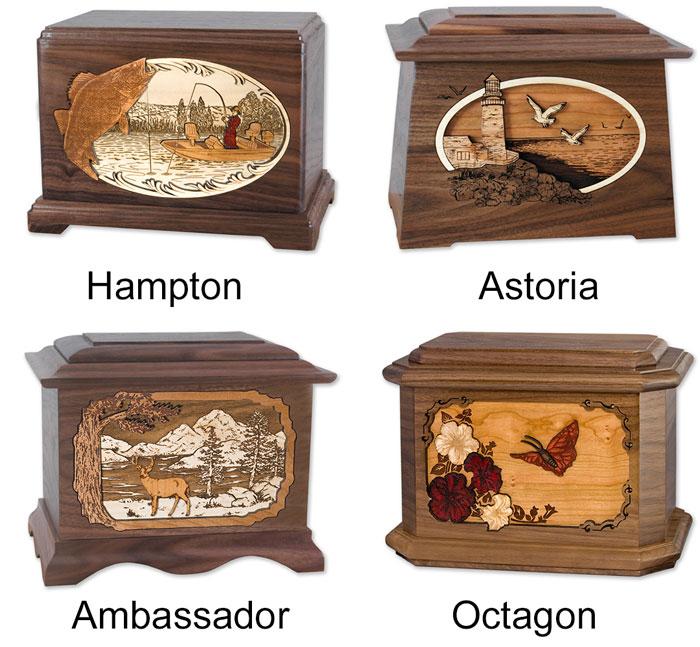 Cremation urn shapes
