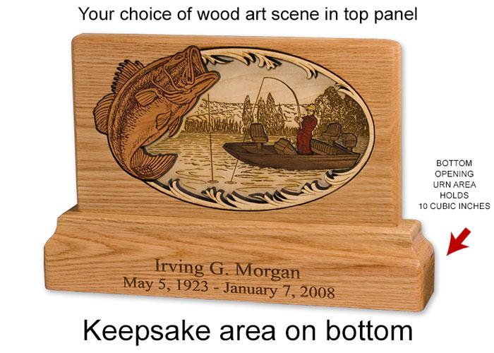 wooden keepsake urns 1