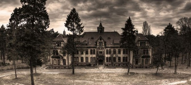 6 Eerily Beautiful Abandoned Funeral Homes & Morgues