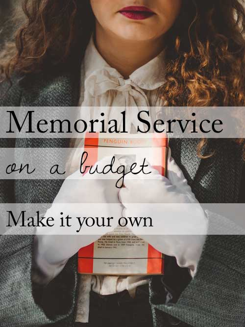 Funeral service ideas on a budget