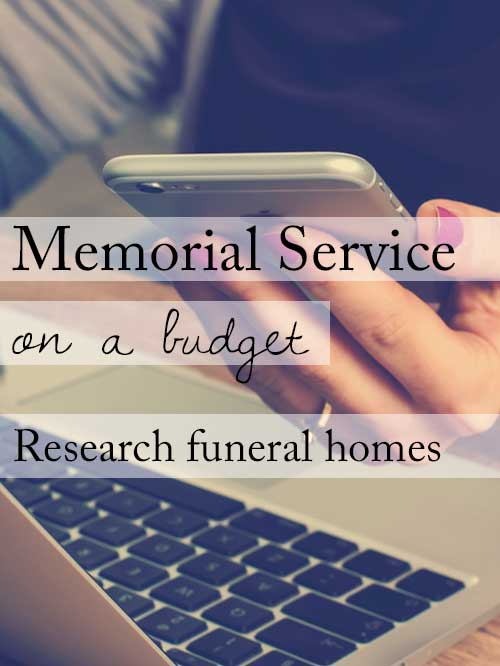 15 ideas for a beautiful memorial service on a budget research funeral homes solutioingenieria Choice Image