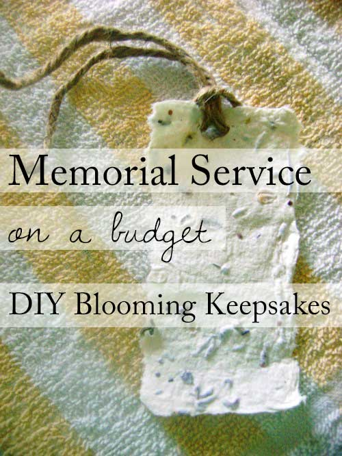 Memorial Service on a Budget
