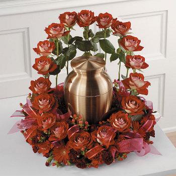 Indian Metal Urns Funeral Urn Flower Arrangements Cremation Simple