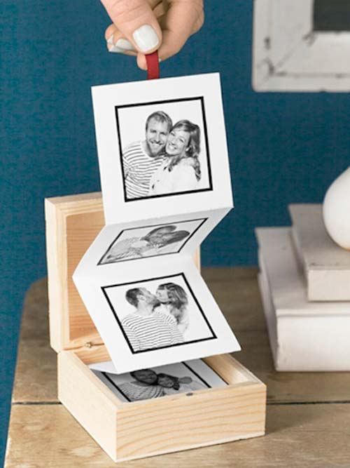 DIY Pull-Out Photo Memory Box  sc 1 st  Urns | Online & 10 Ways to Create a Unique Keepsake Memory Box Aboutintivar.Com
