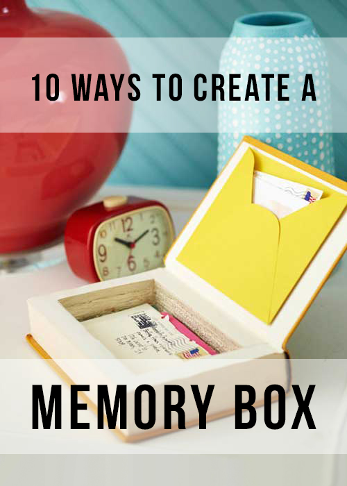 Unique Keepsake Memory Box