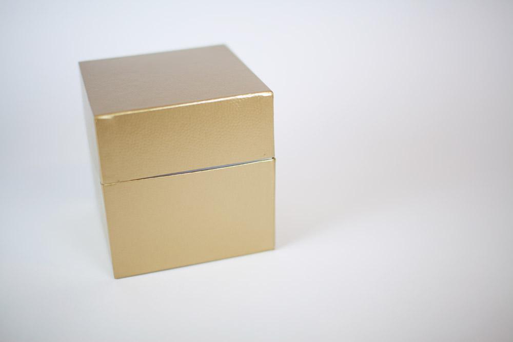 Antique Gold Biodegradable Urn