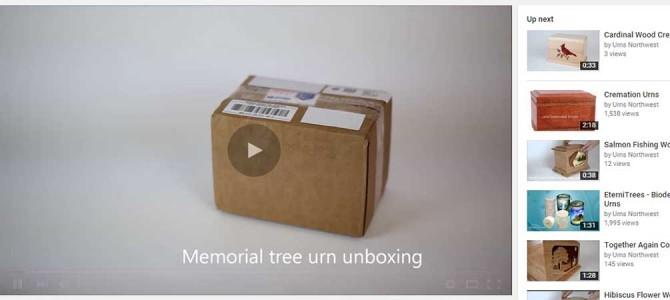 Memorial Tree Urn Unboxing