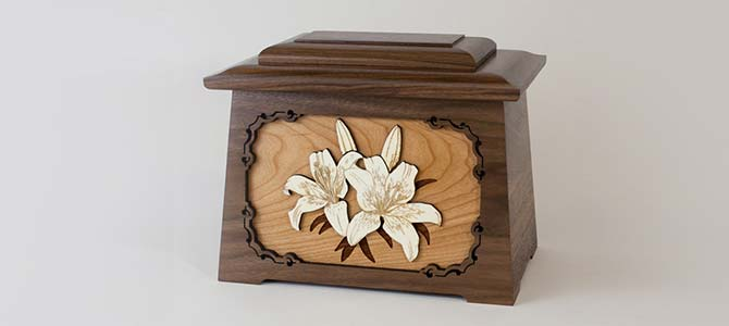 Lily Cremation Urn