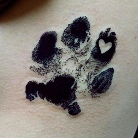 How to get a memorial tattoo matching cremation urn for Pet memorial tattoos