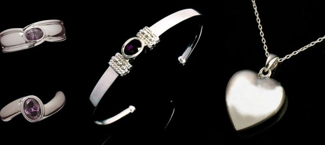 Premium Sterling Silver Cremation Jewelry