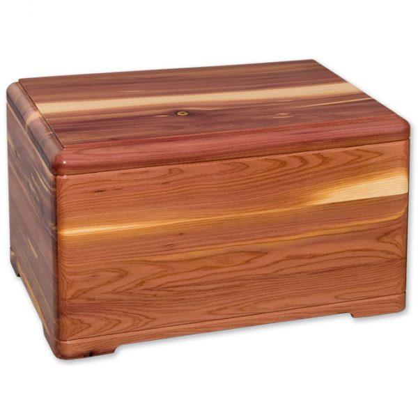 Cedar Wood Urn
