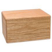 Oak Budget Cremation Urn