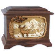 deer-cremation-urn-inlay-art-walnut-wood-mule-deer