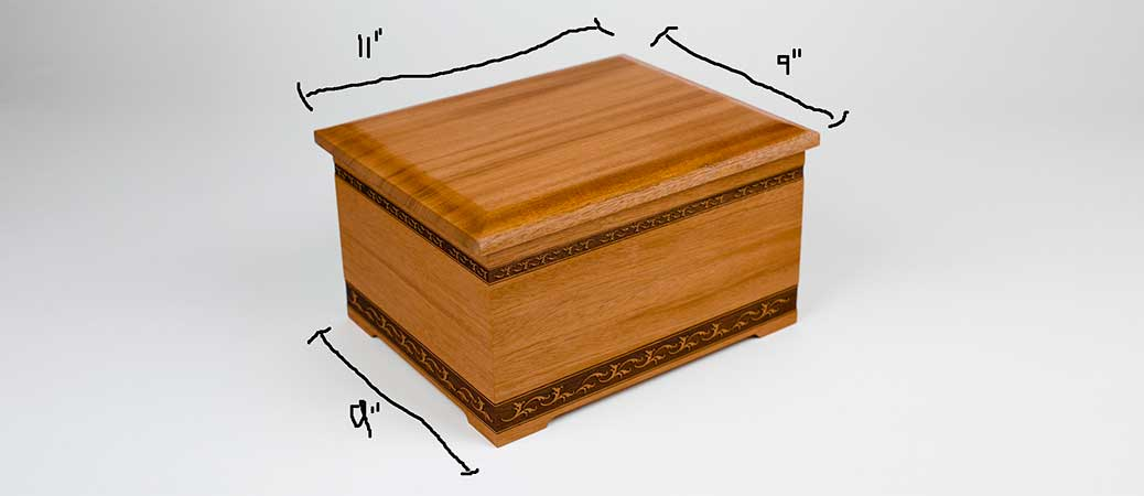 Requirements and Regulations for Urn Sizes