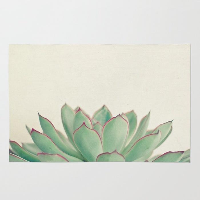 Elegant green rug for funeral home