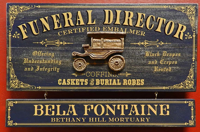 Personalized Funeral Home Decor