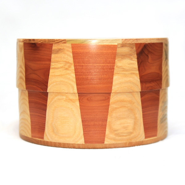 Goncalo Alves Cremation Urn with Inlays