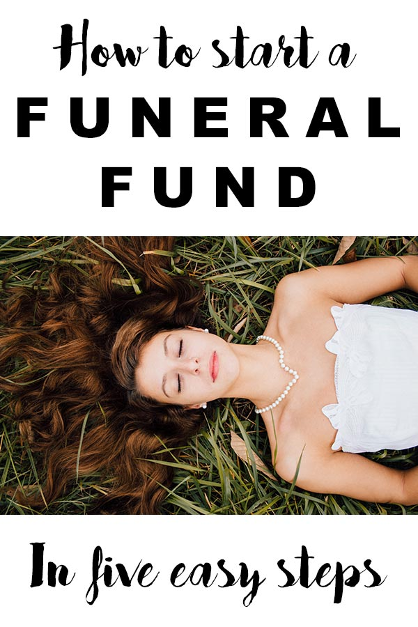 How to start a funeral fund
