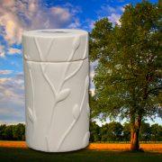 Eternitrees Memorial Tree Urns - White Oak
