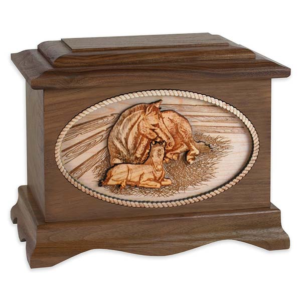 Cremation Urns for People Who Love Horses