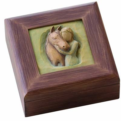 Horse Themed Cremation Urns For People Who Loved Horses