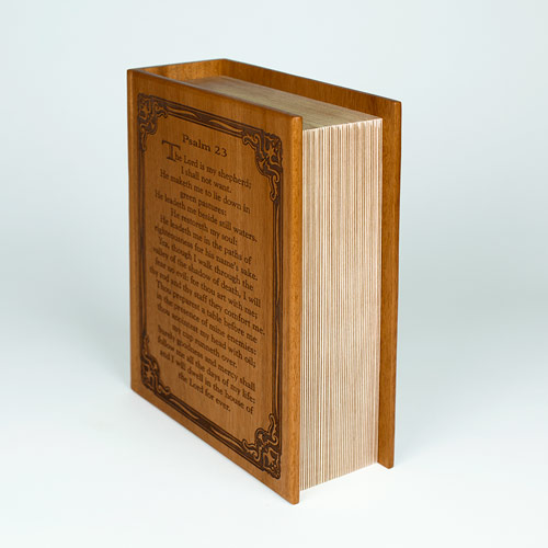 Funeral Urns shaped like a Book or Bible