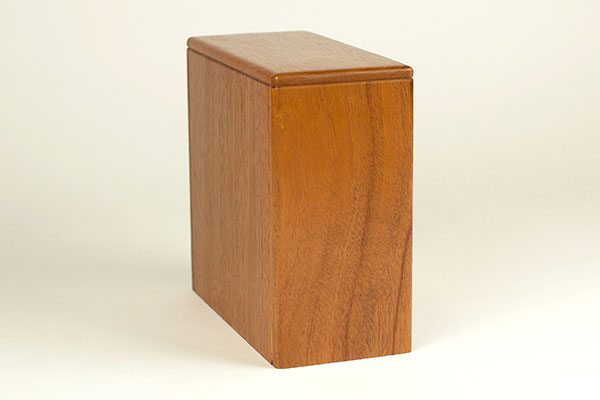 Wood Funeral Urns Designs to Fit Columbarium Niches