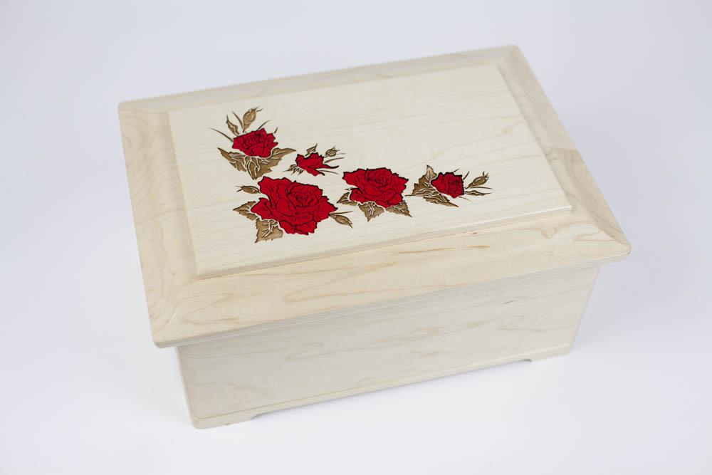 Floral Cremation Urns