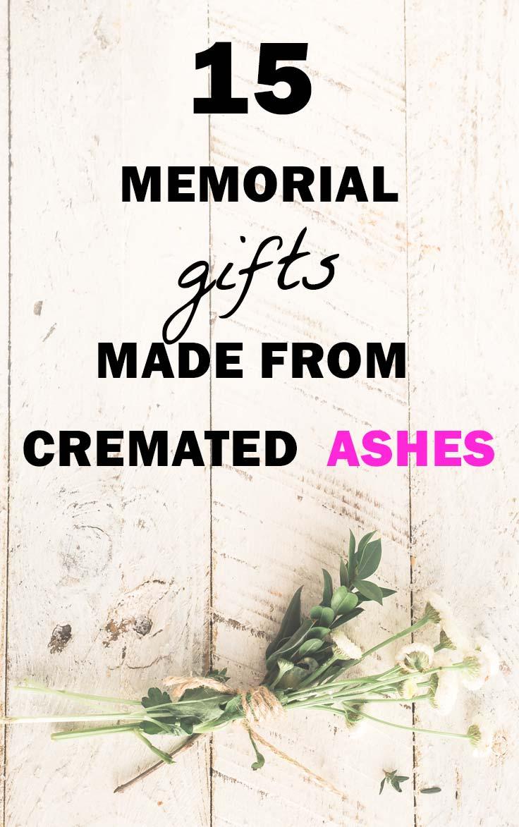 Cremation Ash Memorial Keepsakes
