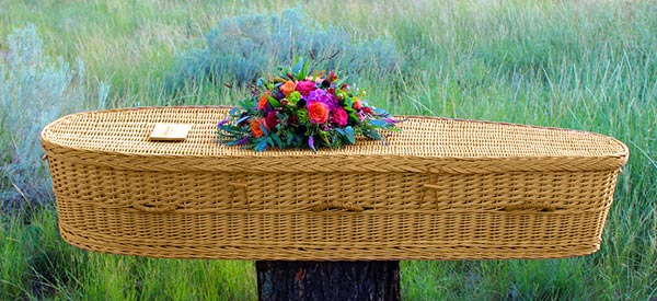How to carry a body for a natural burial service