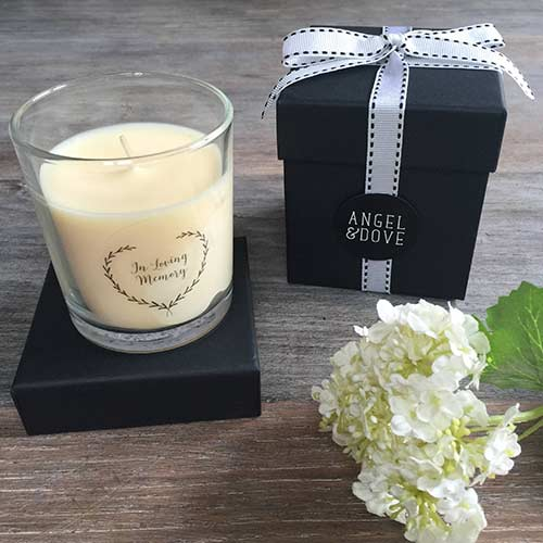 In Loving Memory Candle Remembrance Gift