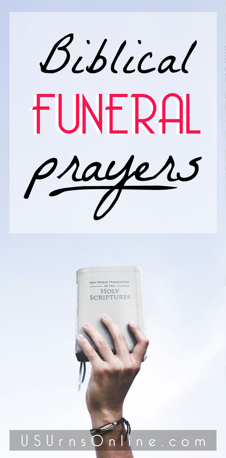 Bible Funeral Prayers for a Christian's Funeral Service