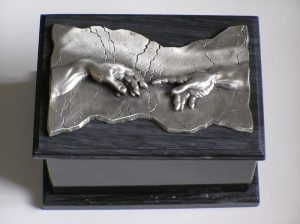 Hand of God Marble Cremation Urn