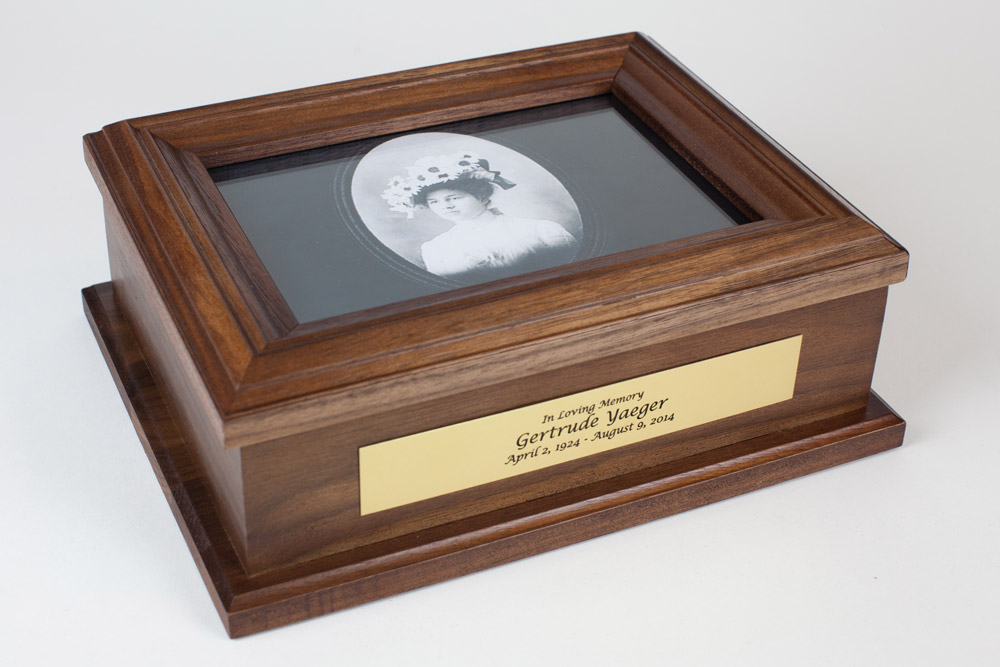 Photo Memorial Keepsake Box