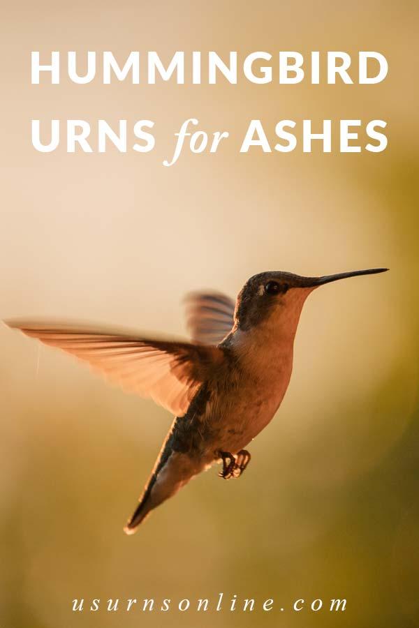 Hummingbird Cremation Urns