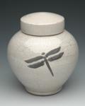 Raku Fired Cremation Urn
