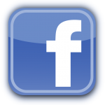 Blue Facebook logo
