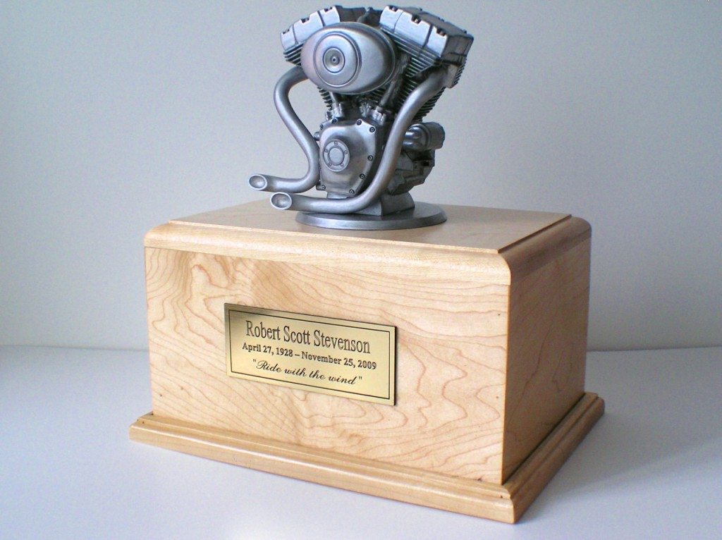Motorcycle Urn, Shorter