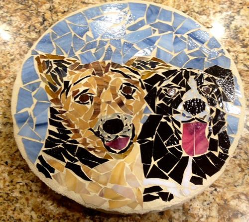Pet Memorial Mosaic