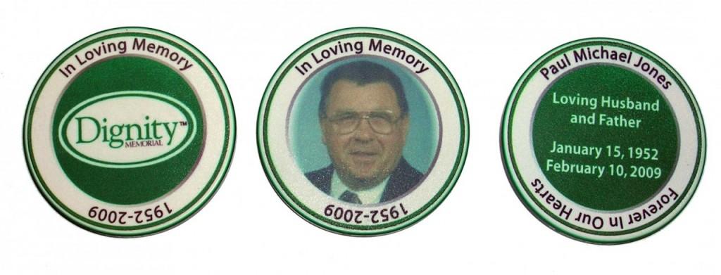 Funeral Memorial Keepsake