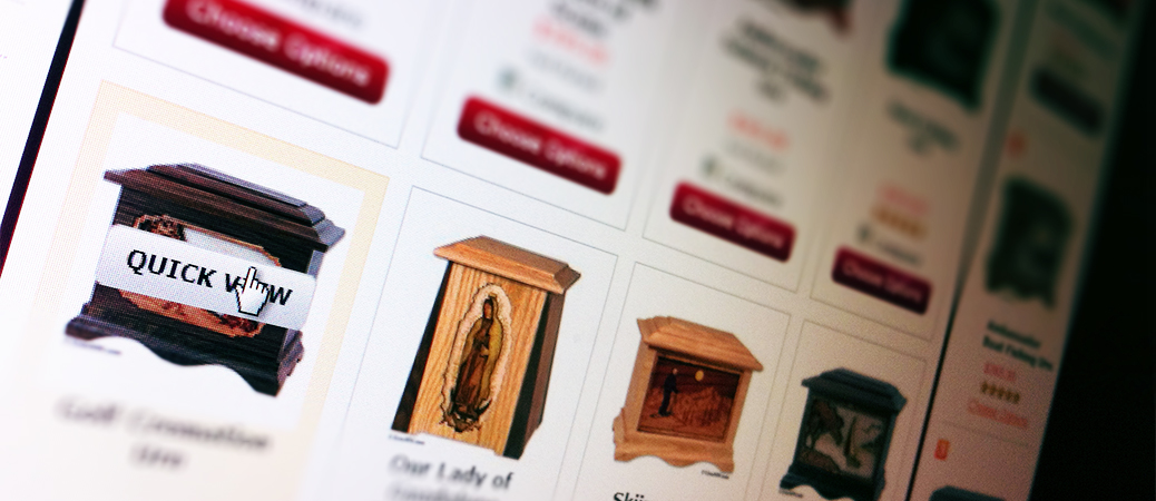 Shop for cremation urns ahead of time